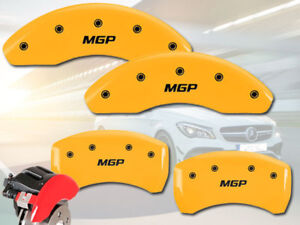 2005 2007 Mercedes Benz C230 Front Rear Yellow mgp Brake Disc Caliper Covers