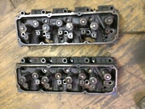 Ford 351 Cleveland 400 Cylinder Heads Open Chamber pair