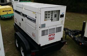 2007 Multiquip Dca 125ssiu Towable Diesel Generator 125kva 100kw