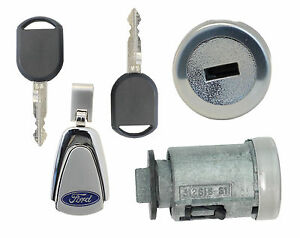 Ford Focus 2006 2011 Ignition Lock W 2 Transponder Keys Coded To Your Key