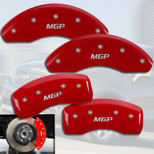 2010 2016 Buick Lacrosse Front Rear Red Mgp Brake Disc Caliper Covers
