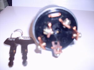 John Deere 650 750 850 900 950 1050 1250 1450 1650 Key Ignition Switch Ch11696