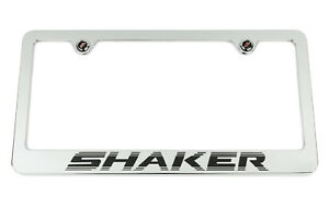 Dodge Challenger R T Shaker Chrome License Plate Frame Usa Made