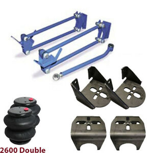 Weld On Hd Parallel 4 Link Kit Brackets 2600 Bags 1 25 Heims 3 50 Axle Xzx