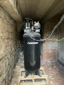 60 Gallon Stationary Electric Air Compressor Garage Industrial Vertical C602h