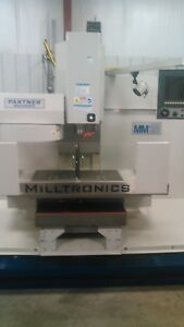 Milltronics Mm18 Cnc Mill Video On Youtube Very Lightly Used 48 Power On
