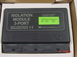 Fisher Western Snow Plow 3 Port Isolation Module 29070 1 29070 New
