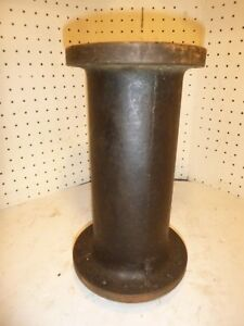 Vintage Theo A Kochs Barber Chair Base Post Sleeve Hydraulic