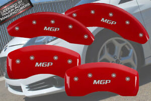 2013 2016 Chevy Sonic Rs Ltz Front Rear Red mgp Brake Disc Caliper Covers 4p
