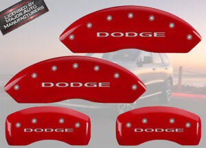 2012 2018 dodge Journey Front Rear Red Mgp Brake Disc Caliper Covers Bre