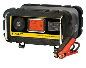 Stanley 15 Amp Bench Battery Charger Vecbc15bs