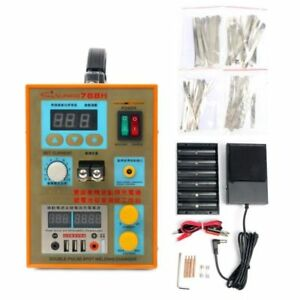 S788h usb 110v Led Dual Pulse Spot Welder Battery Charger 800 A 0 1 0 2 Mm