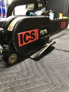 Ics 880f4 8gpm Hydraulic Concrete Chainsaw powerhead Only With Hardcase