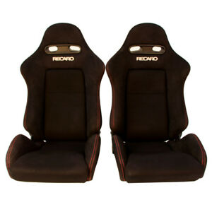 2 Jdm Recaro Sr4 Dc5 Black Rare Bucket Racing Seats Cars Mustang Eg Ek Bmw 70