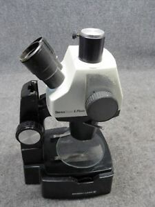 Vintage Bausch Lomb Stereozoom 6 Photo Upright Binocular Microscope tested