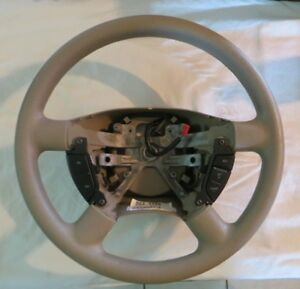 03 06 Ford Expedition Tan Steering Wheel With Cruise Control 109 620 Oem
