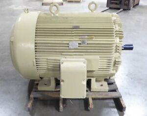 Rebuilt 300 Hp Westinghouse Electric Motor 686rs Frame 2300 4160v 1191 Rpm