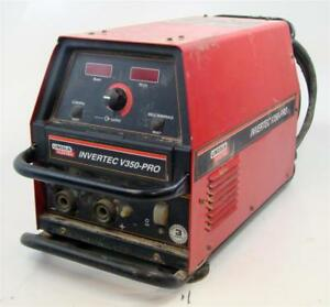Lincoln Multi process Welder Invertec V350 pro Cc cv Single Or 3 Phase 230v