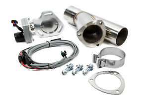 Pypes Performance Exhaust 3in Electric Dump single P n Hve13k
