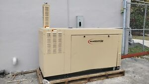 75 Kva Natural Gas 120v 208v 3ph 60hz Generator Set