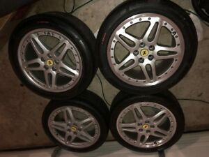 Ferrari 19 Oem 612 Scaglietti Modular 2 Piece Wheels And Tires