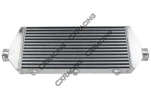 Cxracing 2 5 Inlet Outlet 28x9x3 Intercooler For Rx7 Eclipse Saab Bmw
