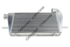 Cxracing 3 Thick Turbo Intercooler 27x15x3 For Toyota Supra 7mgte 7m Gte