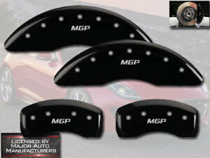 2013 2015 Jaguar Xf 2 0l Front Rear Black Mgp Brake Disc Caliper Covers 4pc