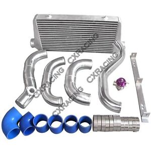 Cxracing Intercooler Piping Bov Kit For 86 92 Supra Mk3 2jz Gte 2jz Single Turbo