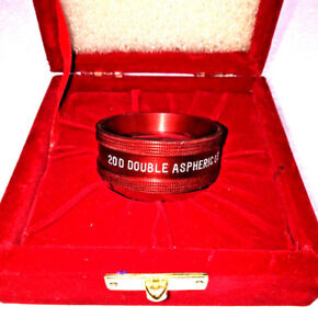 20 D Lens Red Colour Approved By Dr Harry Double Aspheric Lens