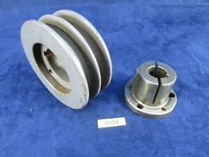 4 1 2 Double Sheave Hd Pulley W Browning 7 8 Bushing 4634