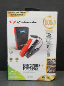 New Schumacher 600a Multi function Jump Start System Sl1314 Free Shipping