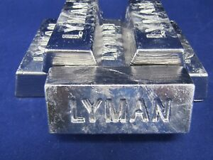 Nearly PureClean Soft Lead Ingots 22+ lbs Bullet Sinker or Hobby Casting
