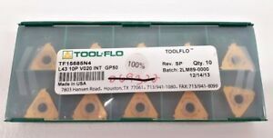 New Tool Flo Tf15685n4 Gp50 Carbide Inserts 10pcs Factroy Packed