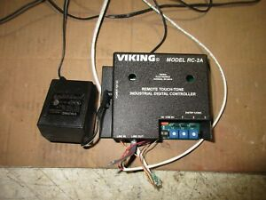 Viking Electronics Rc 2a Remote Touch Tone Controller With Ac Adapter