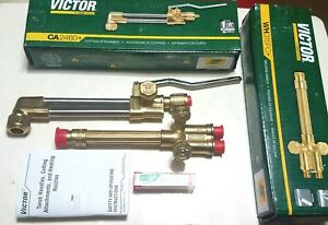 New Victor Journeyman Cutting Welding Torch Set Ca2460 Attachment 315fc Handle