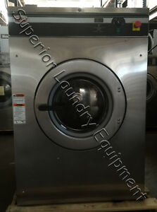 Unimac Ucn060gn2fu1001 Washer extractor 60lb 440v 3ph Opl Reconditioned