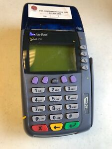 Credit Card Reader terminal Verifone Omni 3750 for Parts Or Repair Only