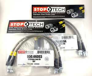 Stainless Steel Front Rear Brake Lines For 06 16 Lexus Is250 Is350 Stoptech