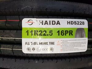 Haida 11r22 5 16pr Steer Tire All Position commercial Truck Tire