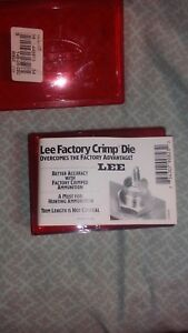 Lee Factory Crimp Die For .308 and 306