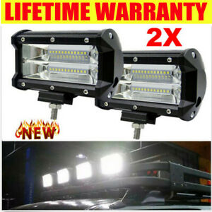 580w 4inch Led Combo Work Light Spotlight Off Road Driving Fog Lamp Truck Boat