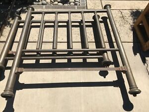 Priced To Sell Antique Brass Bed Full Size Headboard Footboard