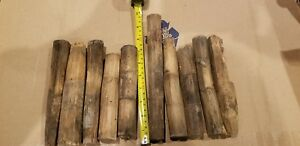 10 Antique Hand Hewn Barn Beam Pegs Dowels Mortise Tenon Free Shipping Lot1