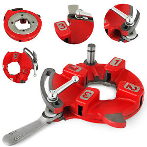 811a Universal Quick Open Dies Head Pipe Capacity 1 8 2 Inch Fit Ridgid Threader