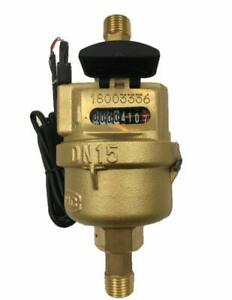 Dae Vm 50p 1 2 Positive Displacement Water Meter Pulse Output Gallon coupling