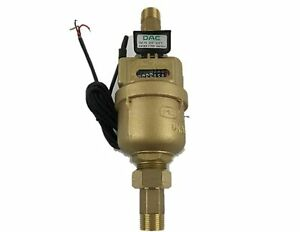 Dae Vm 75p 3 4 Positive Displacement Water Meter Pulse Output Gallon coupling