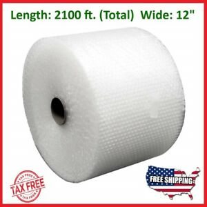 Bubble Wrap 3 16 2100 Ft X 12 Small Padding Perforated Shipping Moving Roll