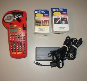 Brady Id Pal Labeling Tool Label Printer Works Great Nice Condition