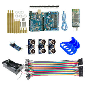 Bluetooth Control Starter Kits With Ultrasonic Sensors And Components
